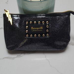 NWOT Betsey Johnson Black Clutch or Make-Up Bag